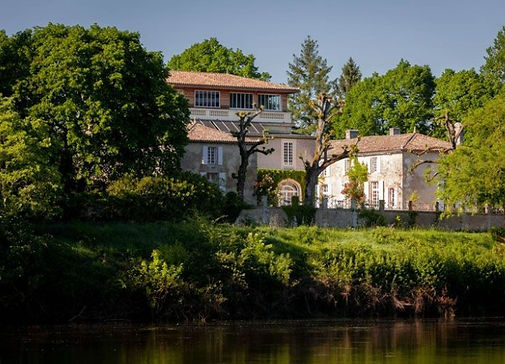 Our riverside chateau with views over the Dordogne river sleeps 54 and caters for up to 160 people.