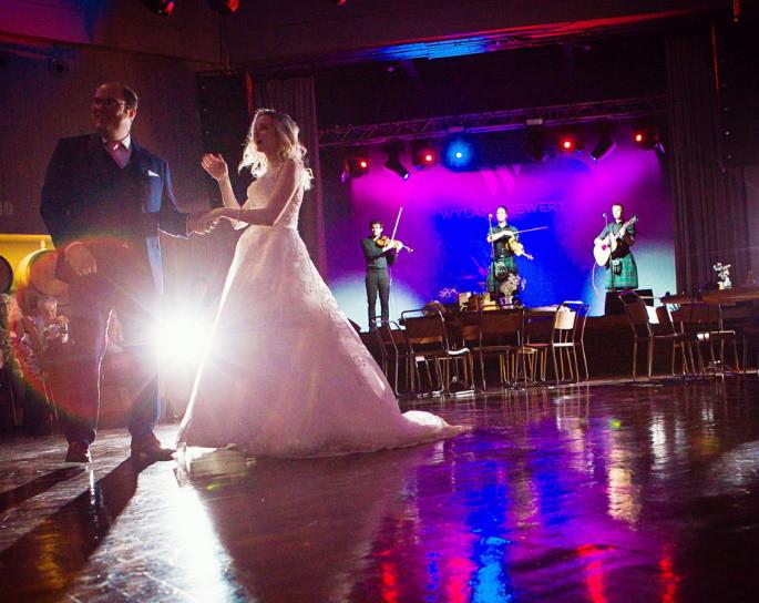 Scottish Ceilidh Band - First dance