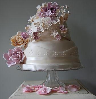 The Chef's Kitchen wedding cake