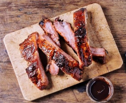 American French fusion chef - BBQ ribs