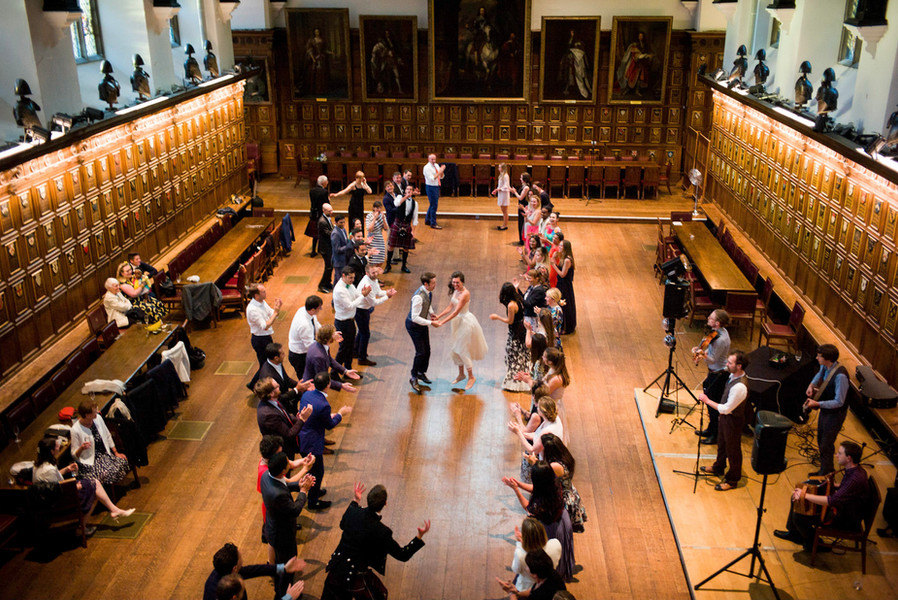 Ceilidh Band with DJ dancing