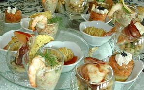 Concept catering near Toulouse starters