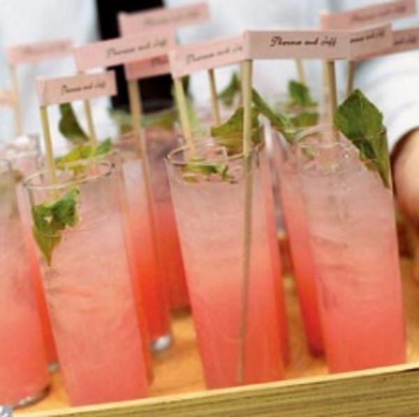 Apple & pink Julep - mobile bar Dordogne