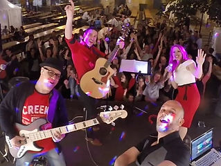 A fun loving 4-piece covers band offering different options from acoustic music  to live party music and a DJ.