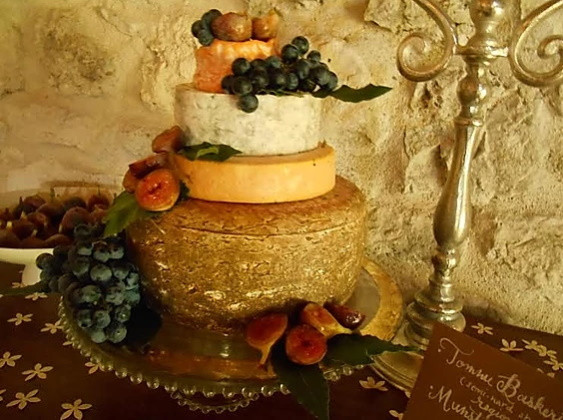 Wedding Catering South-west Cheese tower
