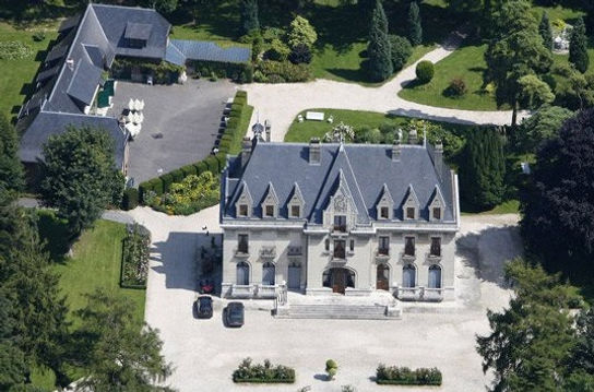 20th Century chateau near Calais - available to hire for wedding receptions.