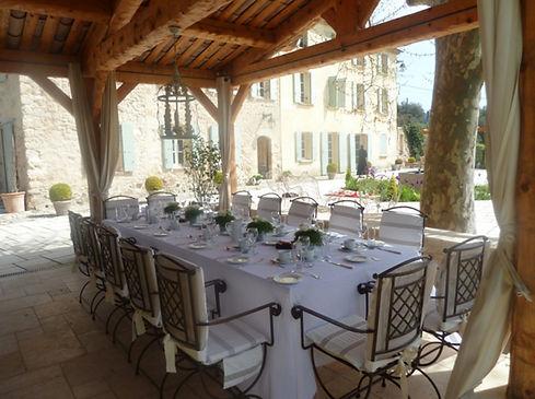 Elegant 18c manor house venue in Provence