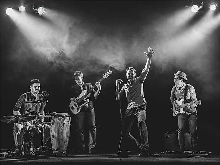 The Keytones Soul Funk band in France