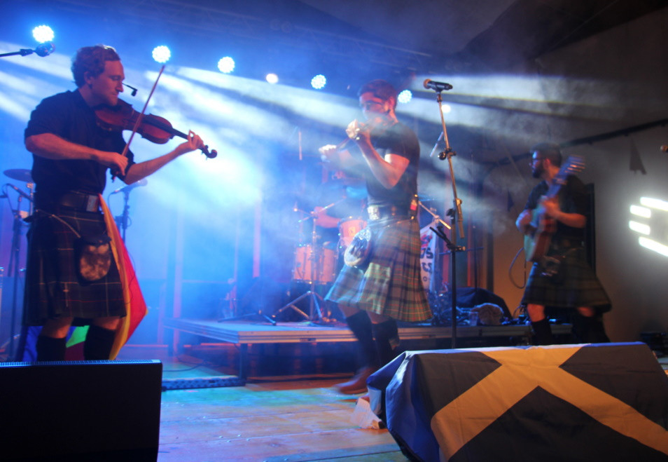 Scottish Ceilidh Band - Paris