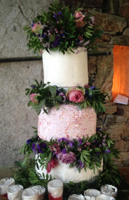 The Taste Parlour wedding cake
