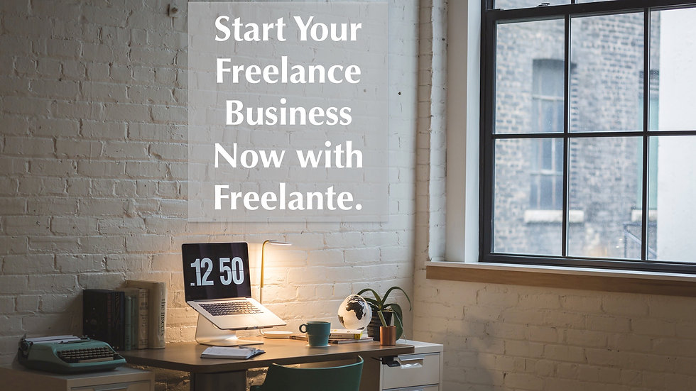 The Essential Quickstart Guide to your Freelance Business