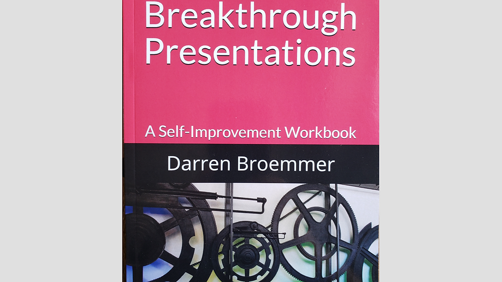 Deliver Breakthrough Presentations: A Self-Improvement Workbook