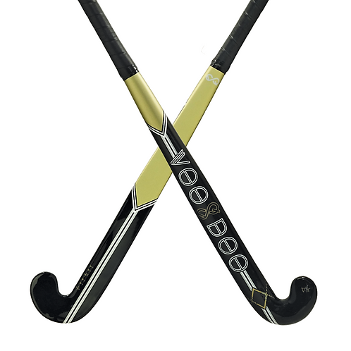 Voodoo Unlimited E4 Gold Indoor Field Hockey Stick