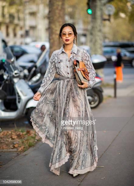 Aimee Song Paris Fashion Week