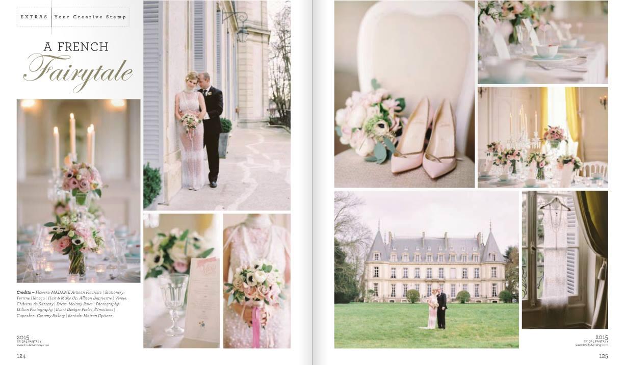 A french Fairytale - Chateau Wedding