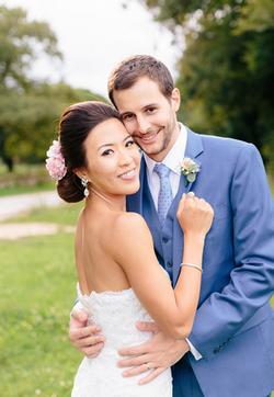 asian bridal hairstyle