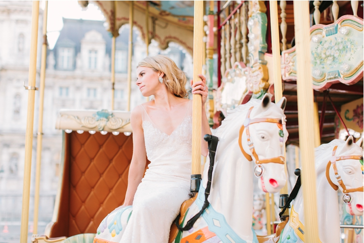 Erin eloping in Paris, 2013