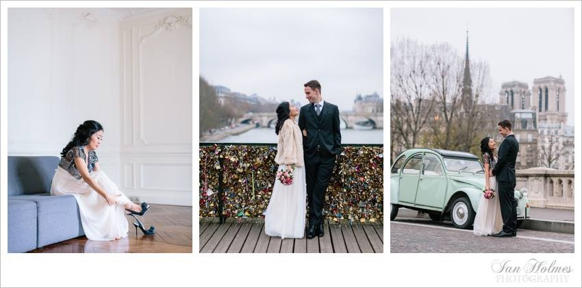 Lin & Ryan - Paris Elopement