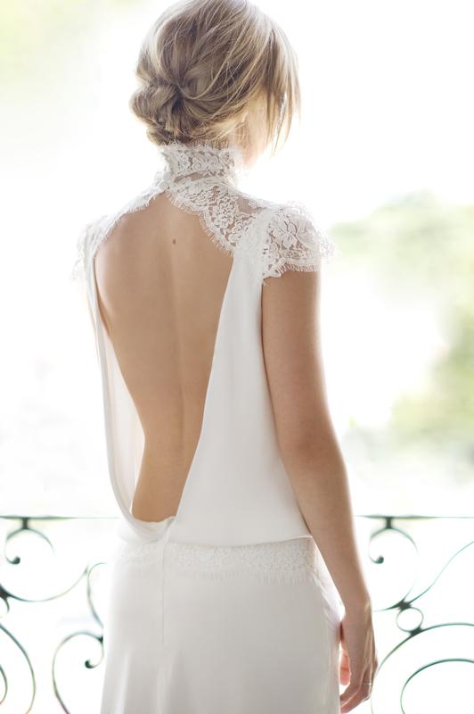 Fabienne Alagama's wedding dresses