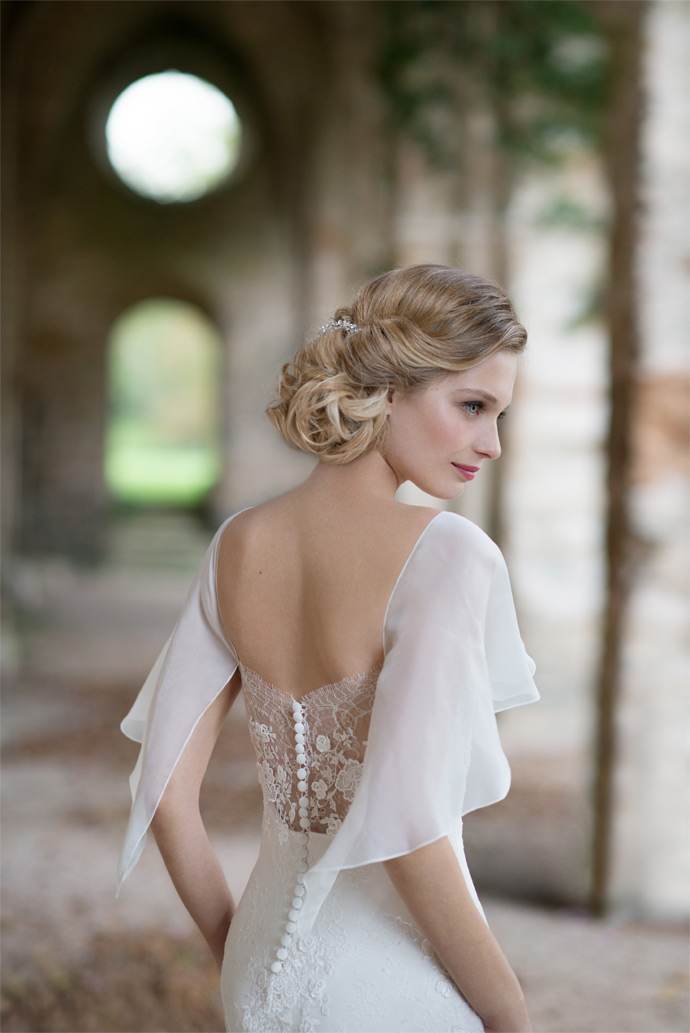 Wedding dresses campaign by top hair
