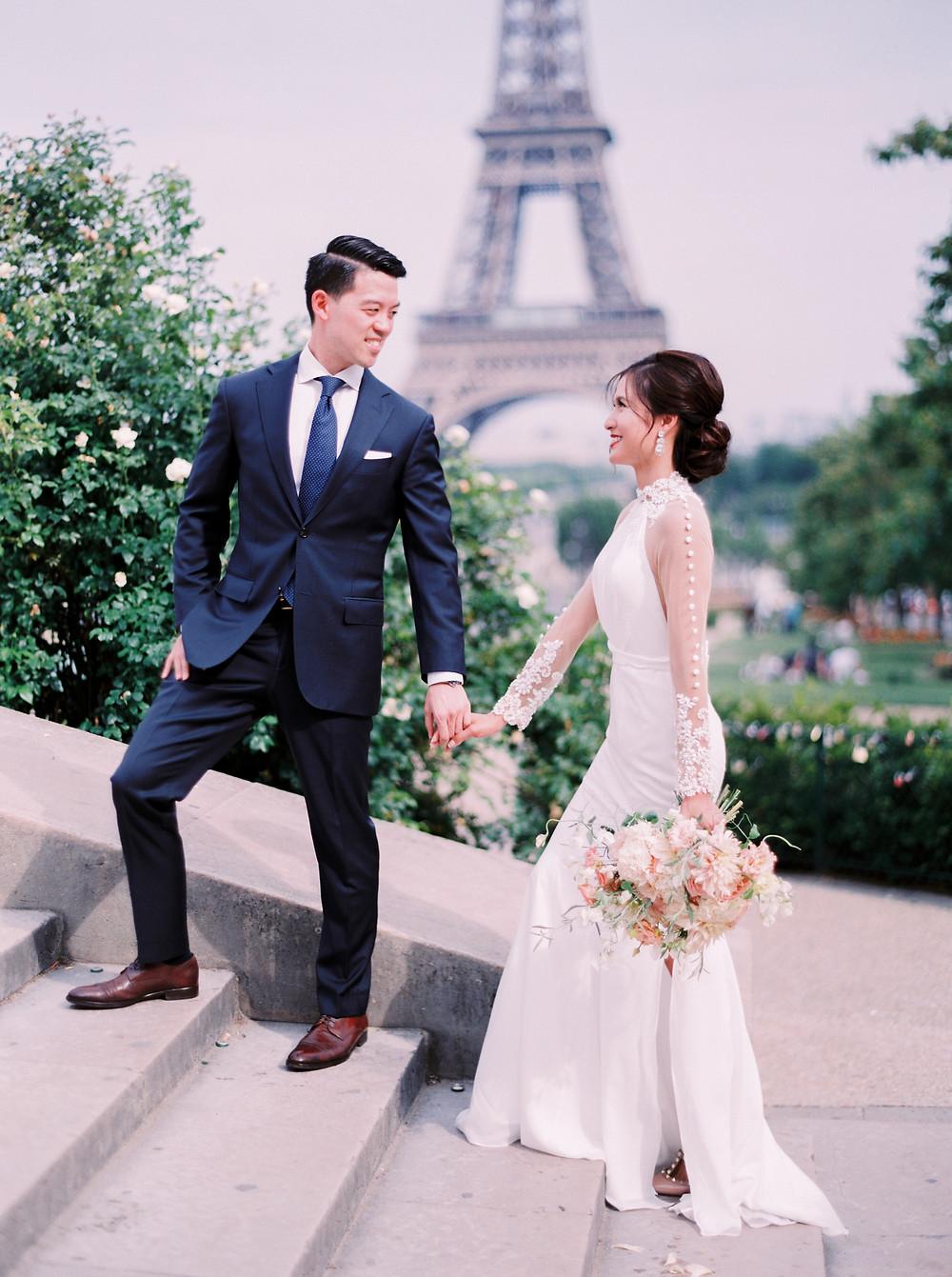 prewedding Paris eiffel tower