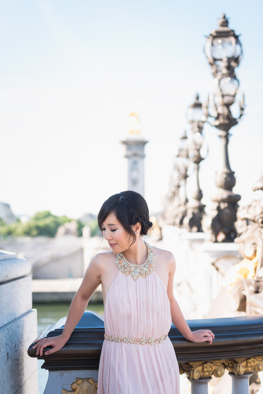 Prewedding / Stylish asian couple in Paris :)