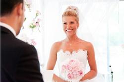 Nathalie's bridal high updo