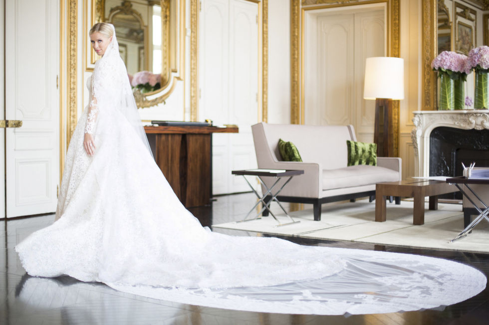 Nicky Hilton Wedding Dress Fitting