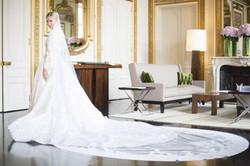 Nicky Hilton Wedding Dress Fitting