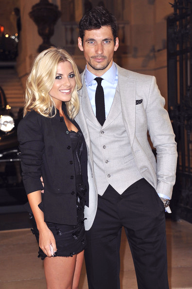 Mollie KIng & David Gandy at RL