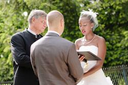 Rachel's intimate ceremony