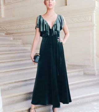 Paris Fashion Week / Princess Olympia of Greece attending Valentino Show