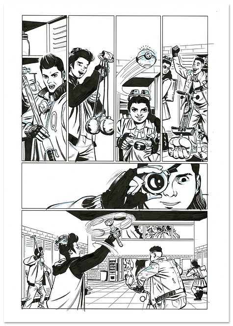 3 O'clock Club issue 1 page 7