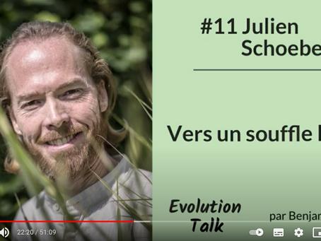 Podcast sur Evolution Talk : vers un souffle libre