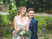 Great Tythe Barn Wedding Megan & Luke