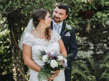 Andrew & Danielle - Upcote Barn Wedding Venue