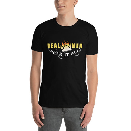 Real Men Bear - Short-Sleeve Unisex T-Shirt