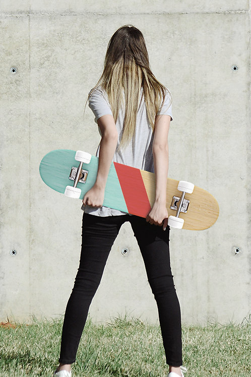 Upcycled Skateboard