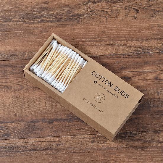 Bamboo Cotton Buds Adults Makeup Cotton Swab