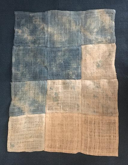 Indigo Voyage - Shiburi Textile Hanging
