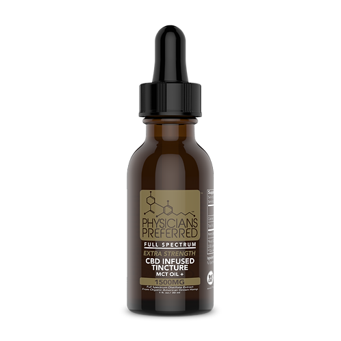 1500mg Extra Strength Everyday Wellness Full Spectrum CBD Tincture