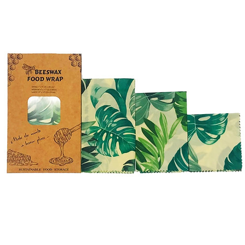 Zero Waste Beeswax Cloth Food Wrap Reusable  Storage Food Wrap