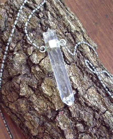 Quartz Crystal Pendants