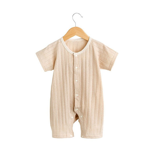 Jumpsuit Boy / Girl Sleep Gown Infant Organic Colored Cotton Rompers
