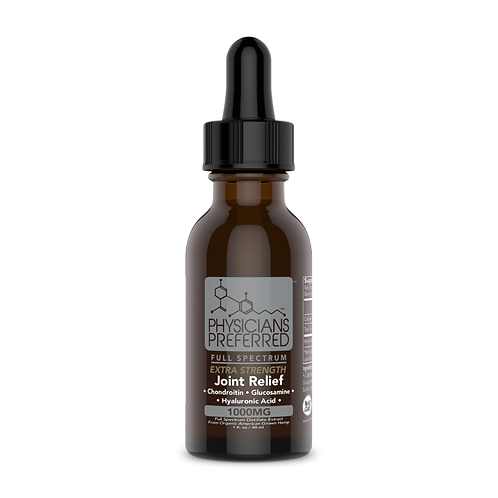 Joint Wellness 1000mg Extra Strength Full Spectrum CBD Tincture