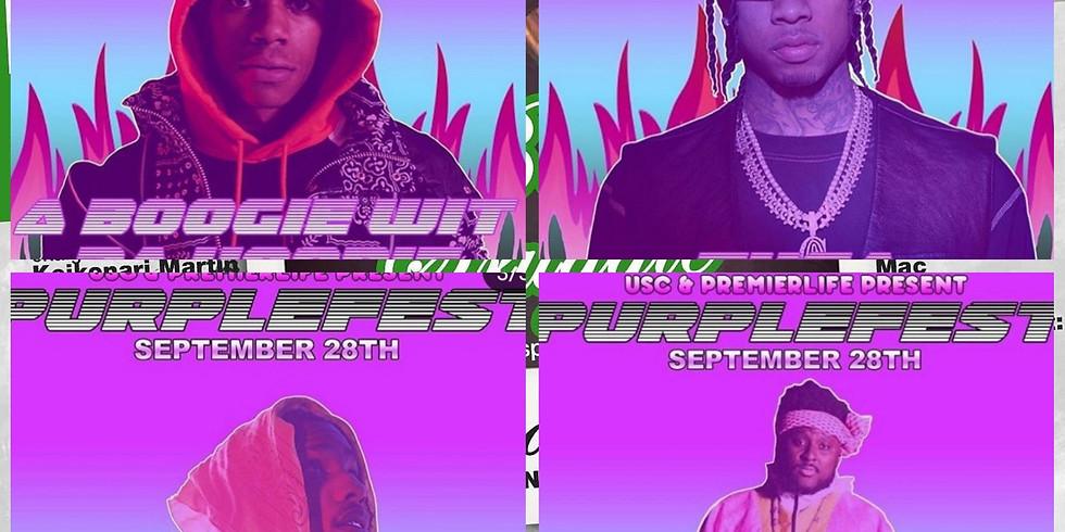 Purple Fest W/ Aboogie, Tyga, ASAP Rocky