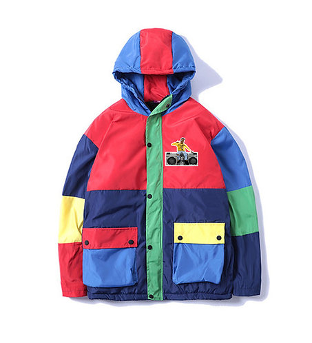 90s Candy Coated Rain Jacket