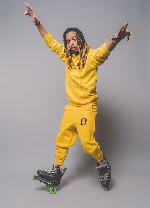 Yellow Sweatsuit