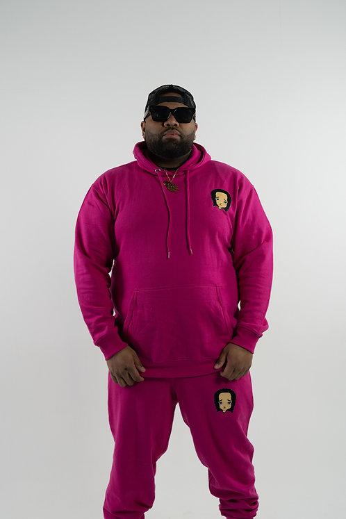 Magenta (Hot Pink) Sweatsuit