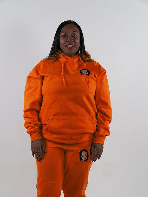 Orange Sweatsuit